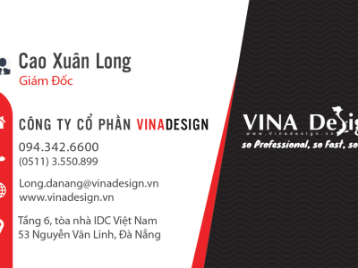 Mẫu namecard VINADESIGN