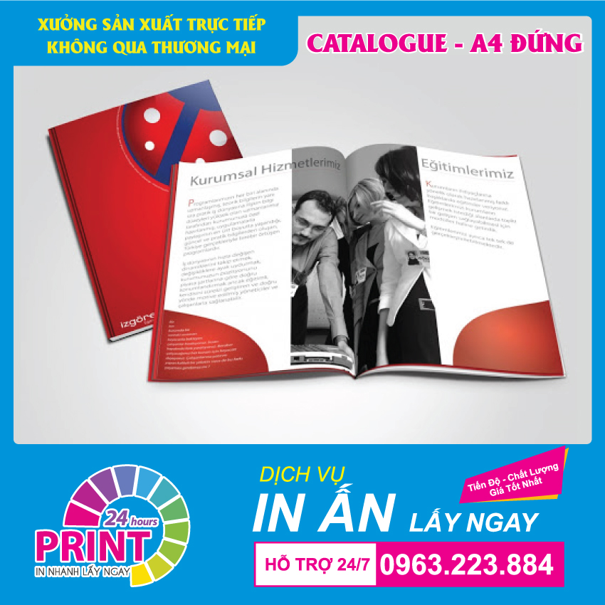 In catalogue giá rẻ lấy ngay tại In An Anh