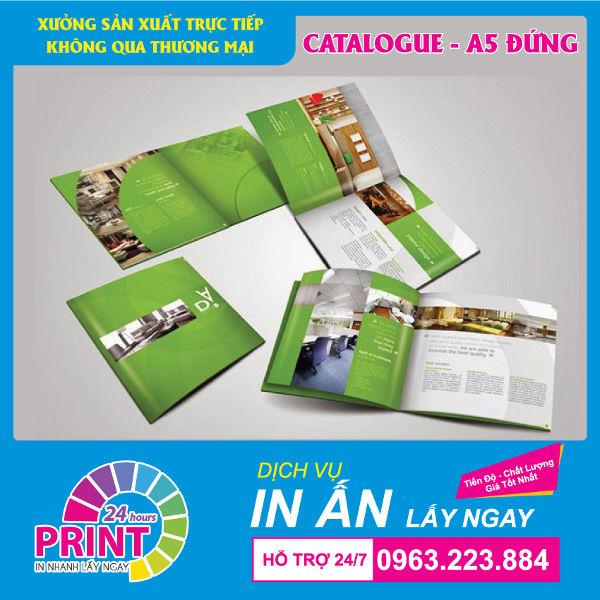 In catalogue lấy ngay lấy gấp tại In An Anh